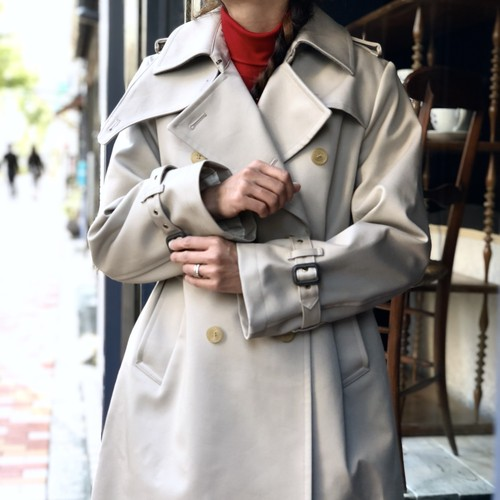 BONDING TRENCH COAT/BEIGE