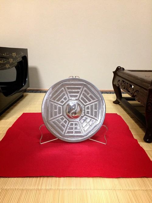 風水の改善に役立つ『先天太極八卦鏡』(直径14cm)