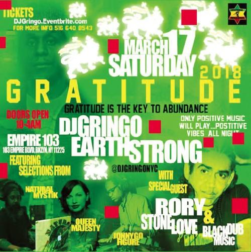 [ライブCD] GRATITUDE 2018 DJ GRINGO BIRTHDAY BASH
