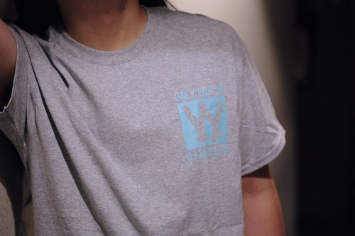 """""""ONLY FOR US"""" Tee / GRAY"""