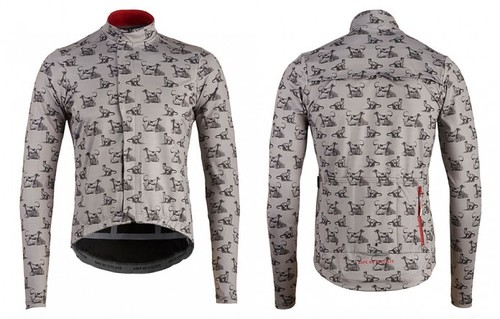 Cafe du Cycliste Charlotte (Soft Shell Rain Jacket)