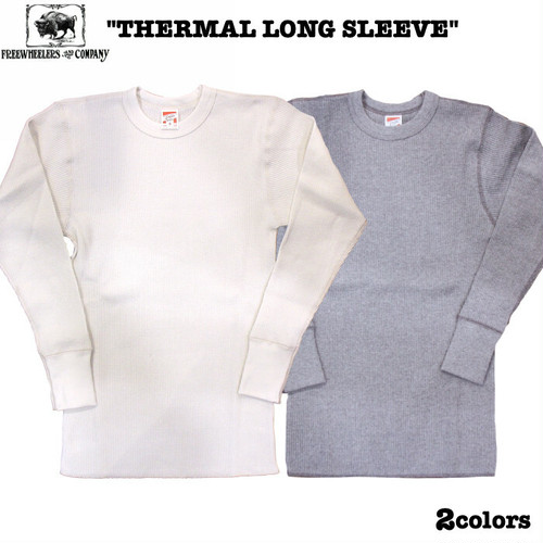"""THERMAL LONG SLEEVE"" FREEWHEELERS/フリーホイーラーズ POWER WEAR Lot 1715003 / 1415004 サーマル / アンダーウェア / 2colors"