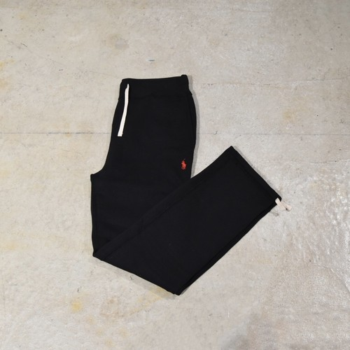POLO RALPH LAUREN SWEAT PANTS / BLACK
