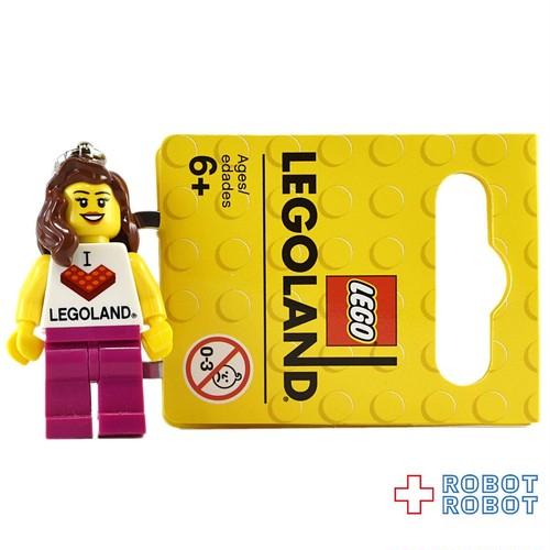 LEGO レゴ キーリング レゴランド 女の子