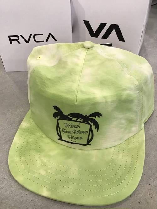 RVCAキャップ WISH SNAPBAC