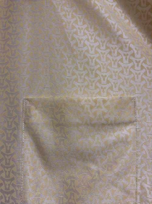 70's Thailand polyester shirt