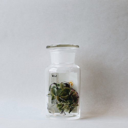 × SILENT POETS GLASS CONTAINER NO.2 (U)
