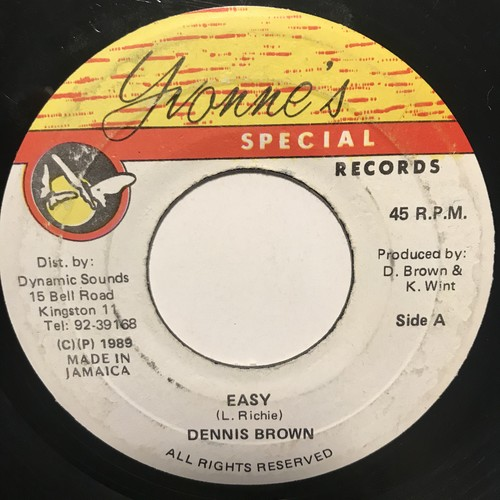 Dennis Brown - Easy【7-10856】