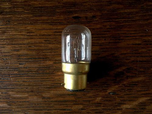 UK(イギリス)電球 B22 -ナツメ球- Li63