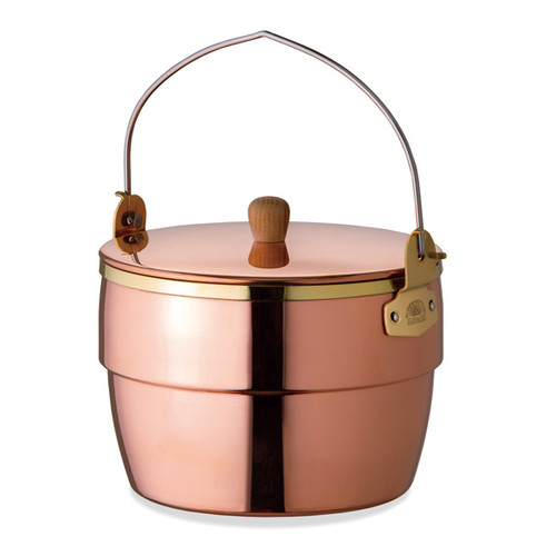 FIRESIDE Copper Oak Pot