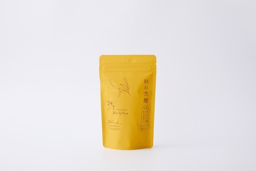 24/7有機秋の芳醇(有機ほうじ茶×オレンジピール)2g×15包入