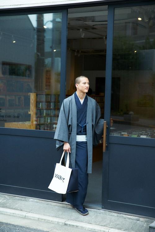 羽織 / シルクウール / 万筋 / Black(With tailoring)