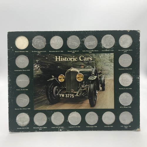 ガソリンスタンドSHELL 70年代 収集コインセット Historic Car