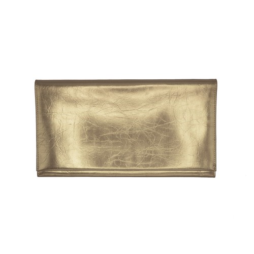 TIN BREATH Clutch bag Antique gold