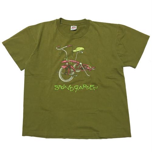 90's USA製 Soundgarden パスヘッドデザインTシャツ