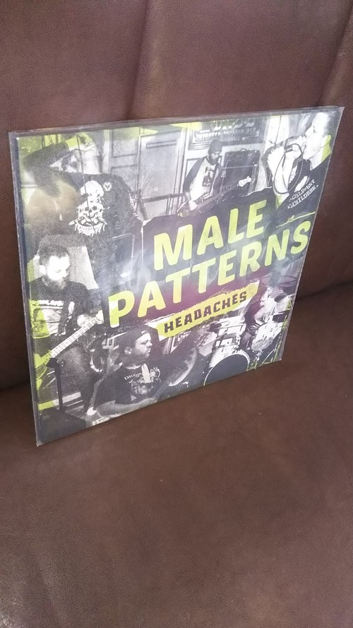 Male Patterns - Headaches LP (Paterwalkee Records)