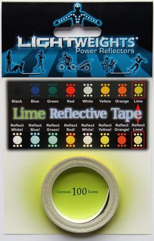 Lime Reflective Tape