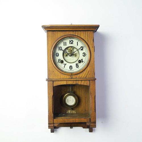 明治時計 明治~大正期の角型柱時計