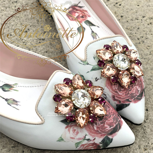 3カラー レディース 靴 フラット シューズ キラキラ ビジュー 花柄 かわいい きれい おでかけ 結婚式 二次会 デート 初夏