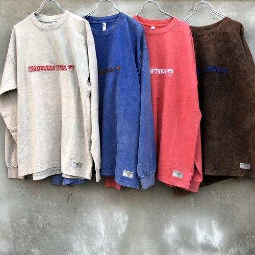 "HOMELESS TAILOR  ""vircus long sleeve T"""