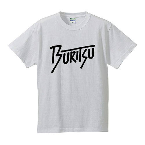 BURITSU Tagging Logo Tee : White