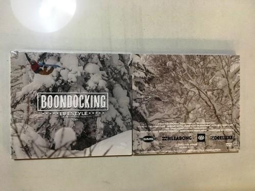 """スノーボード DVD""""BOONDOCKING"""""""