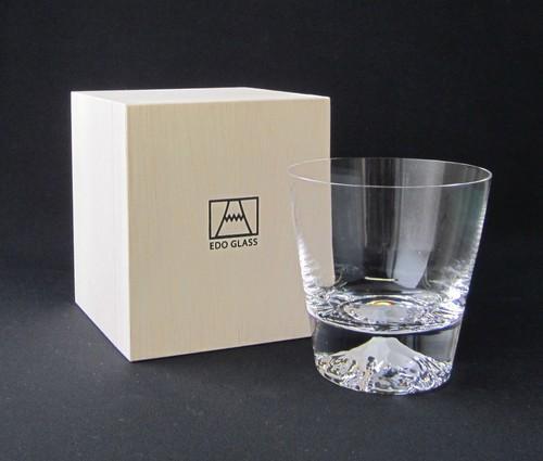 江戸硝子/富士山グラス《お土産観光庁長官賞受賞》