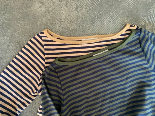 STRIPES LONG TEE