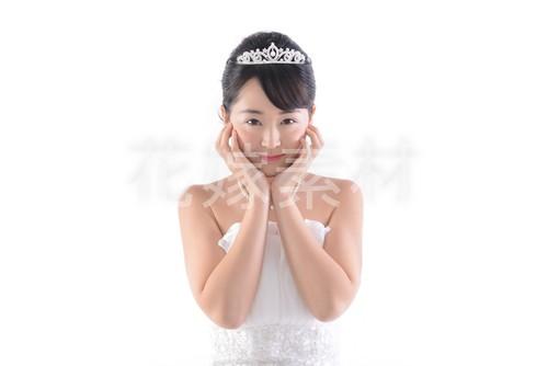 【0153】ポーズを取る花嫁