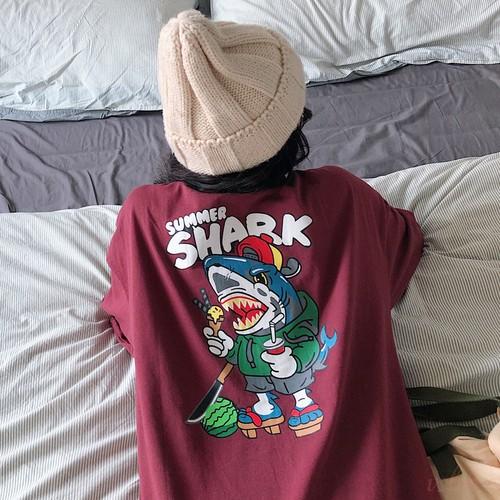【トップス】insゆったり快適なbf学生短袖Tシャツ