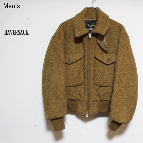 HAVERSACK リングツイードショートジャケット 471814 (CAMEL)