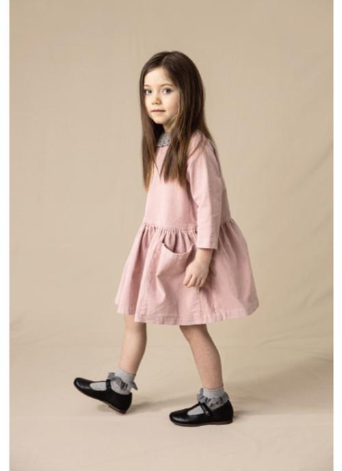 AS WE GROW Pocket Dress / Pink