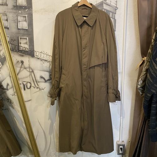 soutien collar long coat