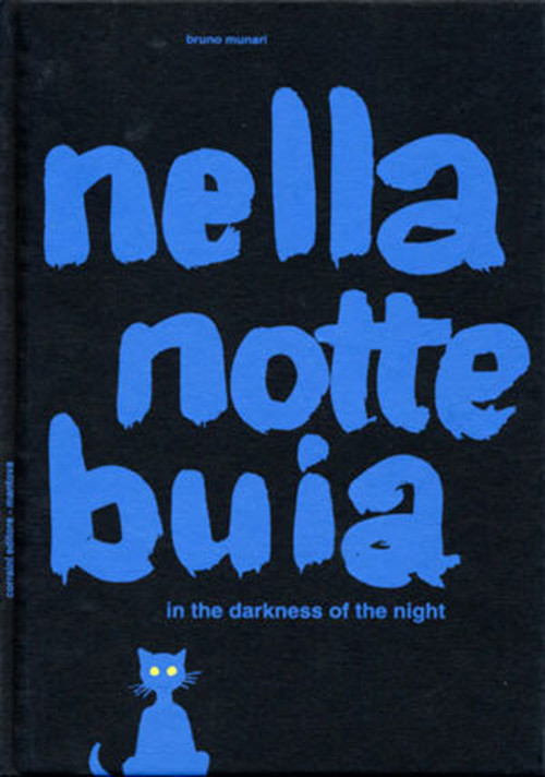 nella notte buia(暗い夜に イタリア語版)絶版 ムナーリ