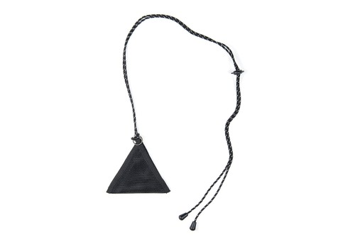 【再入荷 】TRIANGLE PASS CHOKER 〈NYLON MESH〉