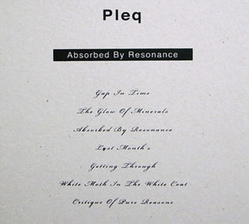 DATA - mp.3   Absorbed By Resonance :: Pleq - MATTER005