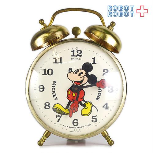 BRADLEY ミッキーマウス 手巻目覚まし時計 スイス製 ビンテージ