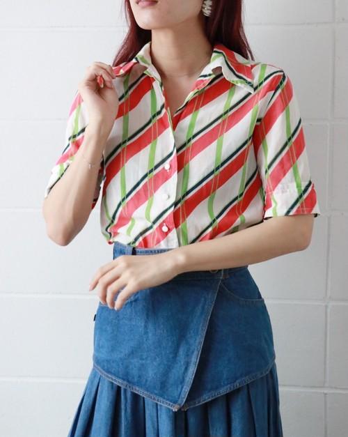 Christian Dior stripe cotton shirt