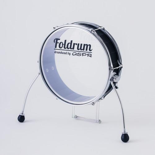 Foldrum Pop 超小口径バスドラム単品 (クローム)