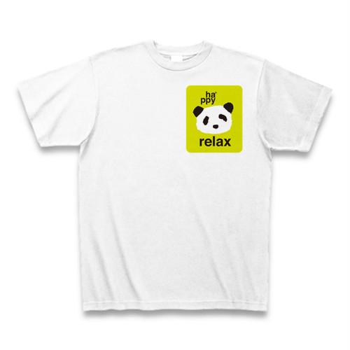 relax ha*ppy panda Tシャツ ホワイト
