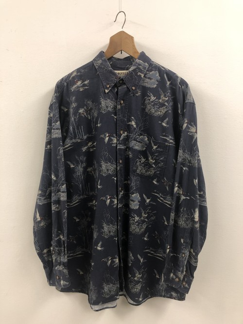 Bird Pattern Shirt