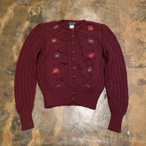 Crochet Pattern Cardigan / England