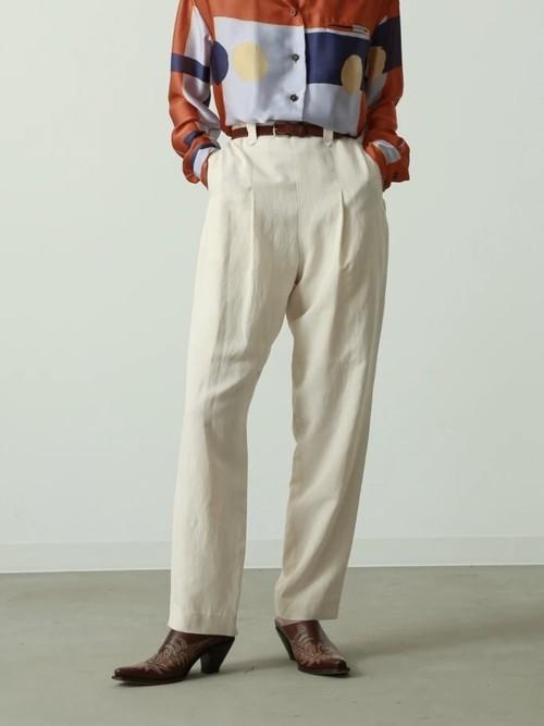【VillD】RAYON LINEN PANTS
