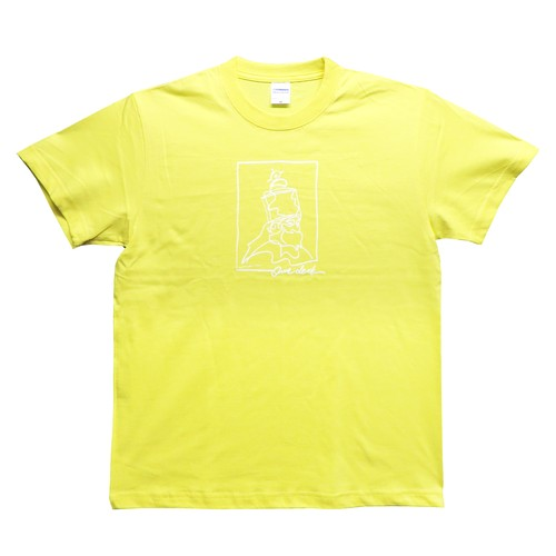 [ OZ × ONE DECK H.I.M Tシャツ ] 数量限定:イエロー