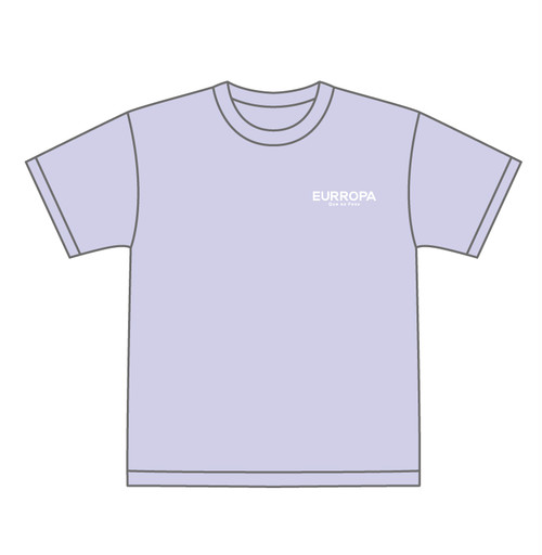 EURROPA LOGO T-SHIRT(Orchid)