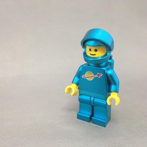 LEGO レゴ スペースマン・ブルーメタ(ハンドメイド)