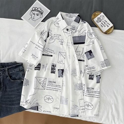 夏 オシャレ カジュアル POLOネック 半袖 シンプル 合わせやすい 韓国ファッション シャツ・トップス