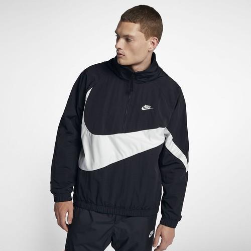 Nike Anorak Jacket アノラック 黒白 (M〜XXXL) US規格