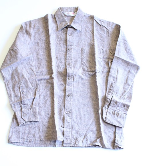 St. Michael Made in U.K.  Pin stripe wool work shirts