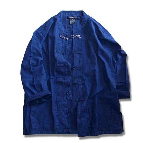 Remake China Shirt -Indigo
